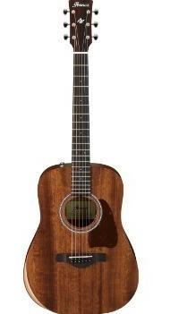 Guitarra Acústica Ibanez Artwood - Aw54jr-opn C/funda