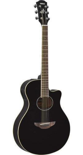 Guitarra Electro-acústica Yamaha Apx600 Bl En Negro