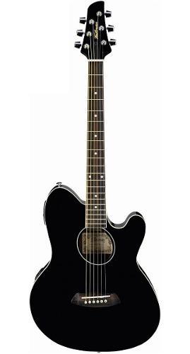 Guitarra Electroacústica Ibanez Talman Negra Mod. Tcy10e Bk