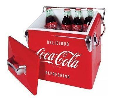 Hielera Coca Cola Vintage