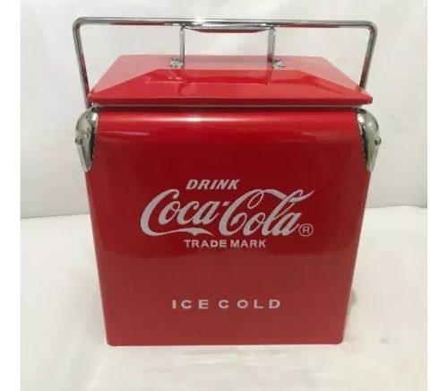 Hielera Coca Cola Vintage Nueva 18 Latas
