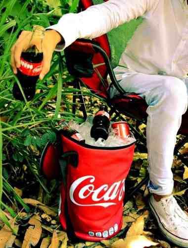 Hielera Flexible Coca Cola Cap 16 Latas Envio Gratis