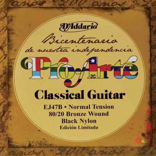 Juego De Cuerdas Guitarra Acustica Clasica Nylon Ej47b
