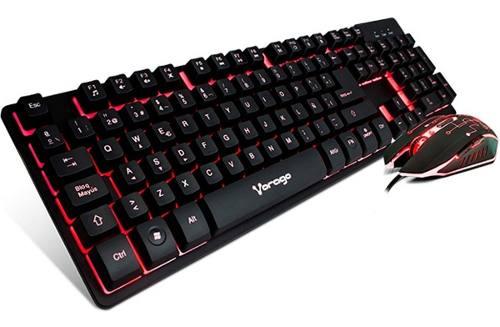 Kit Teclado Mouse Gamer Profesional Retroiluminado Usb Pc