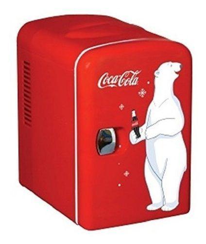 Koolatron Kwc 4 Coca Cola Personal 6 Latas Mini Refrigerado