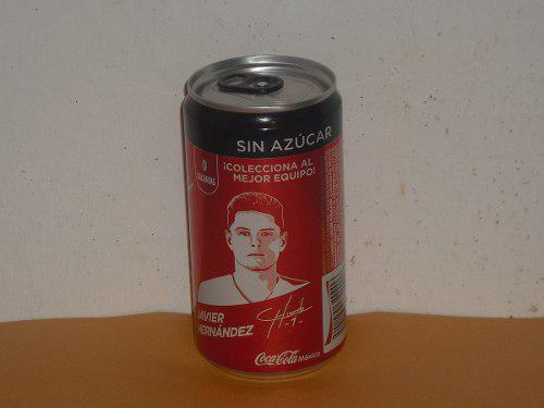 Lata Chicharito Hernandez Coca Cola Zero Mundial Rusia 2018