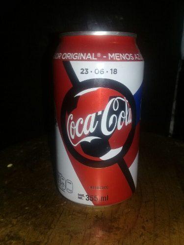 Lata Coca Cola Conmemorativa Mexico 2-korea 1 Rusia 2018