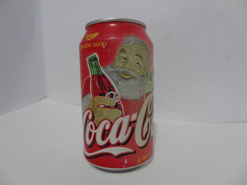 Lata Coca Cola Edicion 2000 Navidad
