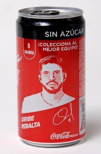 Lata Coca Cola Fifa Mundial Rusia 2018 Oribe Peralta