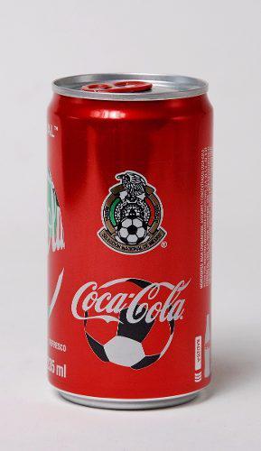 Lata Coca Cola Fifa Mundial Rusia 2018 Selección Mexicana