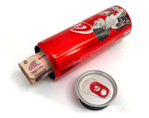 Lata Compartimiento Oculto Coca Cola Seguridad Secreta
