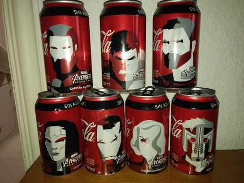 Lata De Avengers Coca Cola