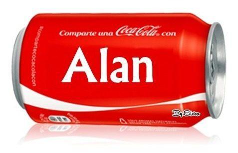 Lata De Coca Cola Alan