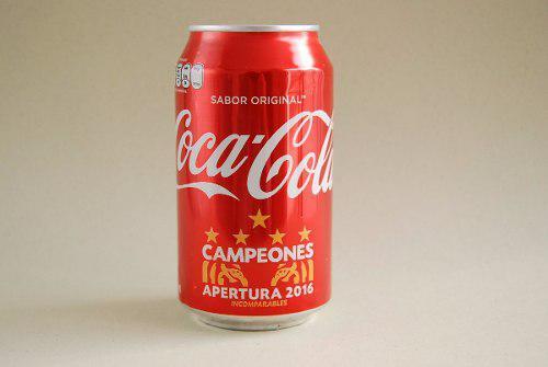 Lata De Coca Cola Tigres Campeón Apertura 2016