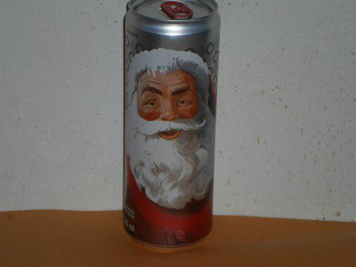 Lata Navidad Coca Cola Light Llena