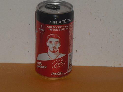 Lata Raul Jimenez Coca Cola Zero Mundial Rusia 2018