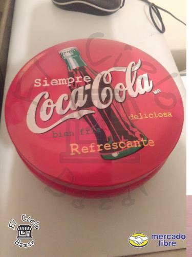 Lata Redonda Coca Cola De Colección