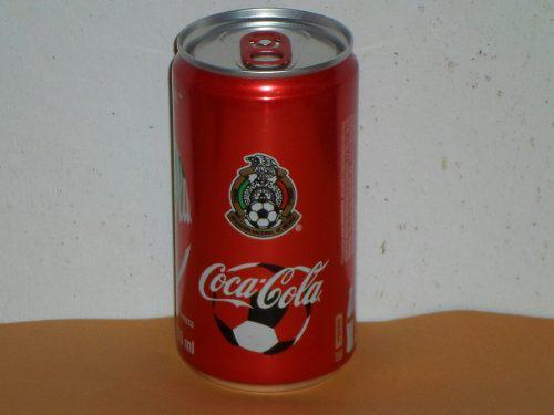Lata Seleccion Mexicana Coca Cola Mundial Rusia 2018