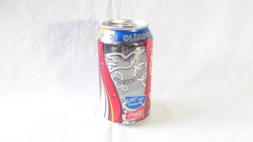 Lata Vacia Coca Cola De Juegos Olimpicos Atenas 2004