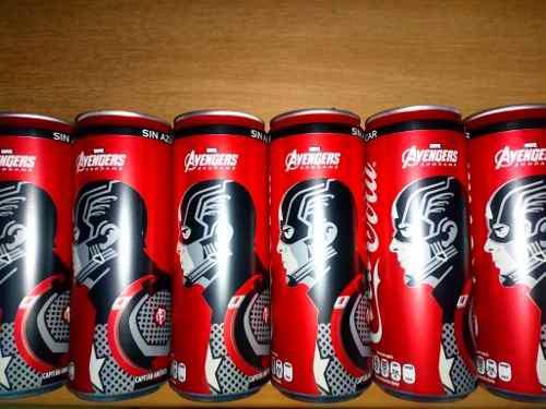 Latas De Coca Cola Avengers End Game Capitán América