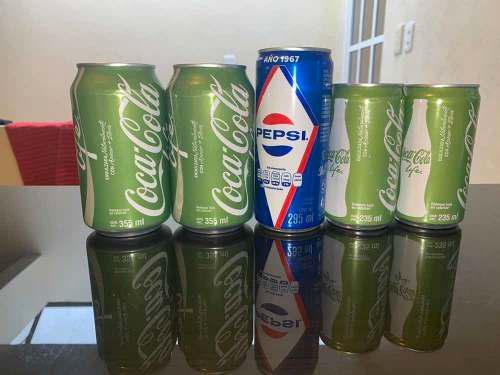 Latas De Coca Cola Life Coleccionables
