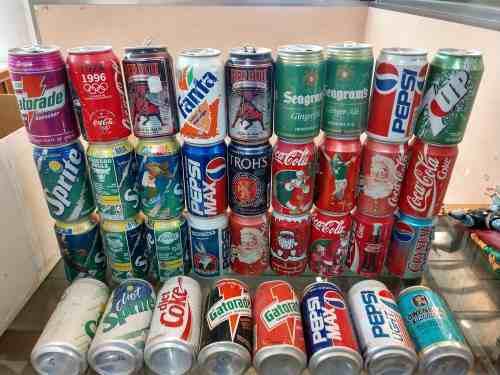 Latas Vintage Coca Cola Navidad Sprite Nba Pepsi Looney Toon
