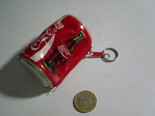 Llavero De Plástico Coca Cola En Forma De Lata