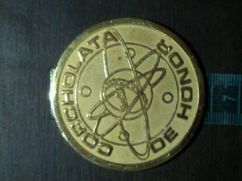 Medalla Corcholata De Honor De Coca Cola Bronce 5.5cm 94.3gr