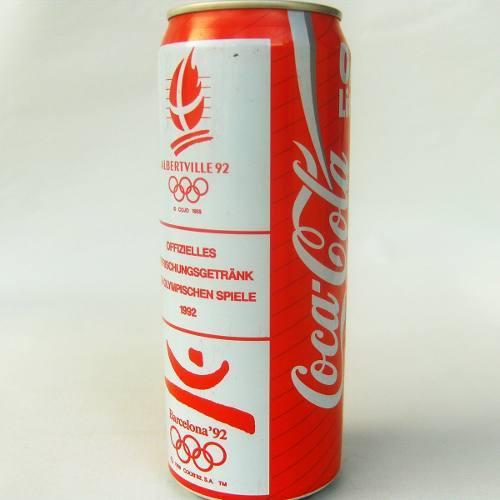 Mega Lata Antigua Alemania 1992 Barcelona 92 Coca Cola 0.5 L