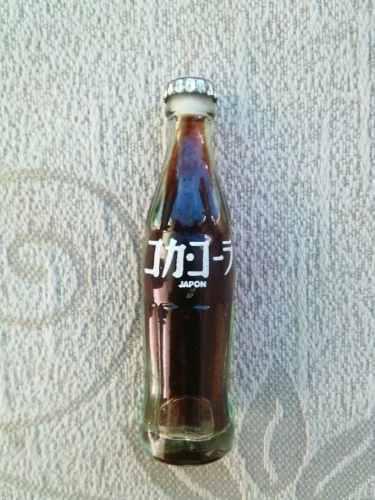 Mini Botellita Coca Cola Coleccionable Japón