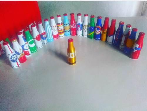 Mini Mundialistas Coca Cola 22 Botellitas