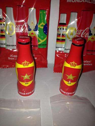 Mini Mundialistas Coca Cola Rusia 2018 - 2 Botellitas