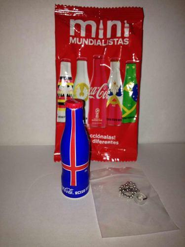 Mini Mundialistas Coca Cola Rusia 2018 Botellita De Islandia
