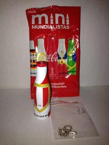 Mini Mundialistas Coca Cola Rusia 2018 Botellita De Peru