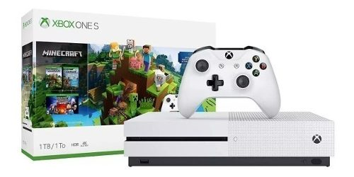 Nuevo Xbox One S 500 Gb Bundle Minecraft Creators Y Control