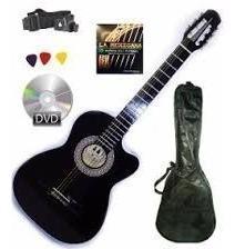 Paquete De Guitarra Acustica Completo Todo Incluido C/envio
