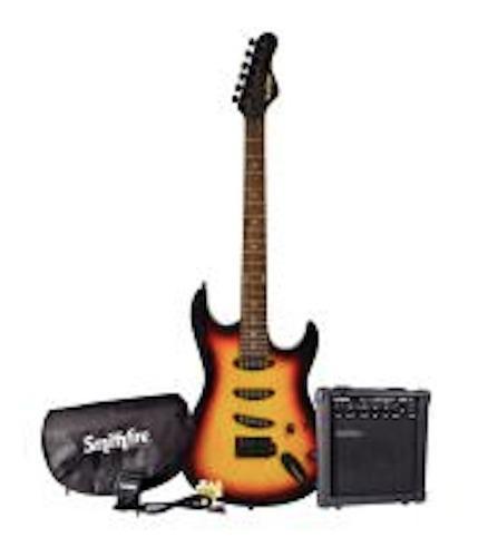 Paquete De Guitarra Electrica Smithfire Con Envio Gratis.
