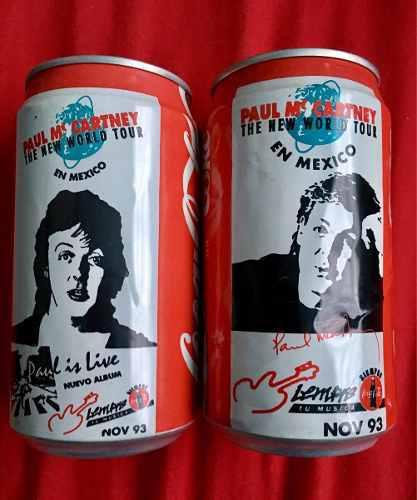 Paul Mccartney Latas De Coca Cola