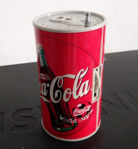 Radio Lata Coca Cola Edición Limitada Del Mundial Francia