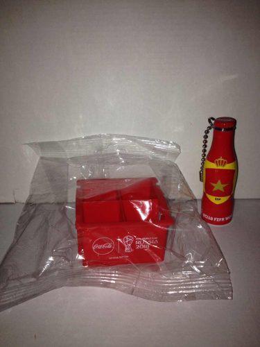 Rejita + Botellita España Minimundialista Coca Cola Rusia18