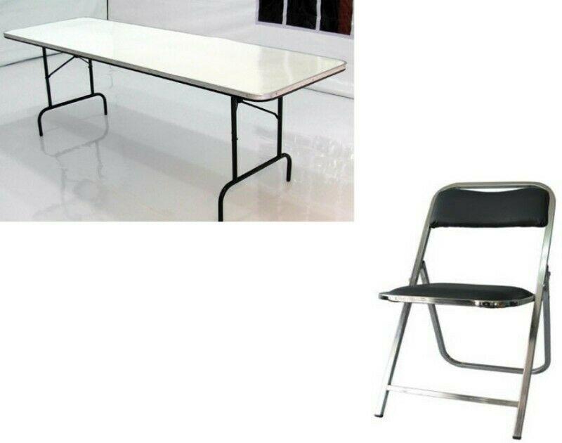 Renta de sillas, tablones y Cazuelas para Taquizas