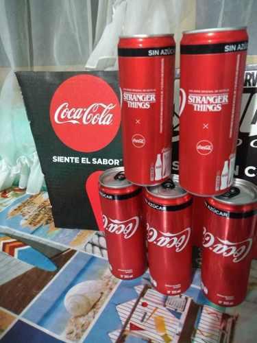 Stranger Things Coca Cola 2 Latas Edición Especial Nuevas