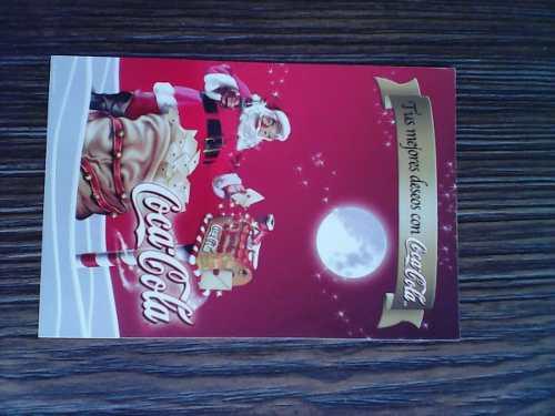 Tarjeta Postal De Navidad De Coca Cola Del 2002 Para Colecci