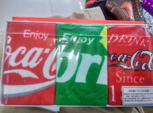 Toallas De Mano Coca Cola Originales De Japon