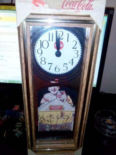 Vintage Reloj Cocacola De Coleccion En Caja Nuevo