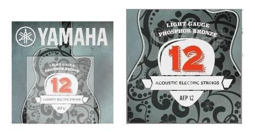 Yamaha Aep12 Juego De Cuerdas De Bronce.12.53 Cal