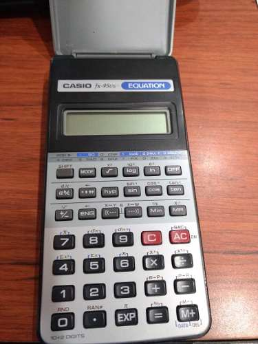 Calculadora Casio Cientifica Vintage Fx95us Equation
