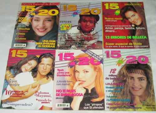 15 A 20. Lote De 6 Revistas. Chantal, Kate, Lola, Claudia