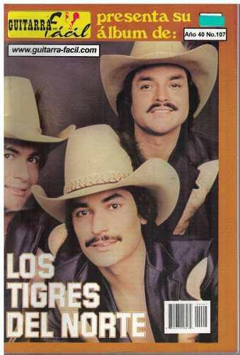 Album De Guitarra Fácil Núm. 107 Los Tigres Del Norte