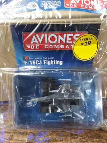 Aviones De Combate #19 F-16 C.j. Fighting Salvat